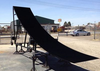 General Fabrication Skate Ramp